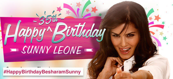 Happy Birthday Sunny Leone Face of Brand IMbesharam
