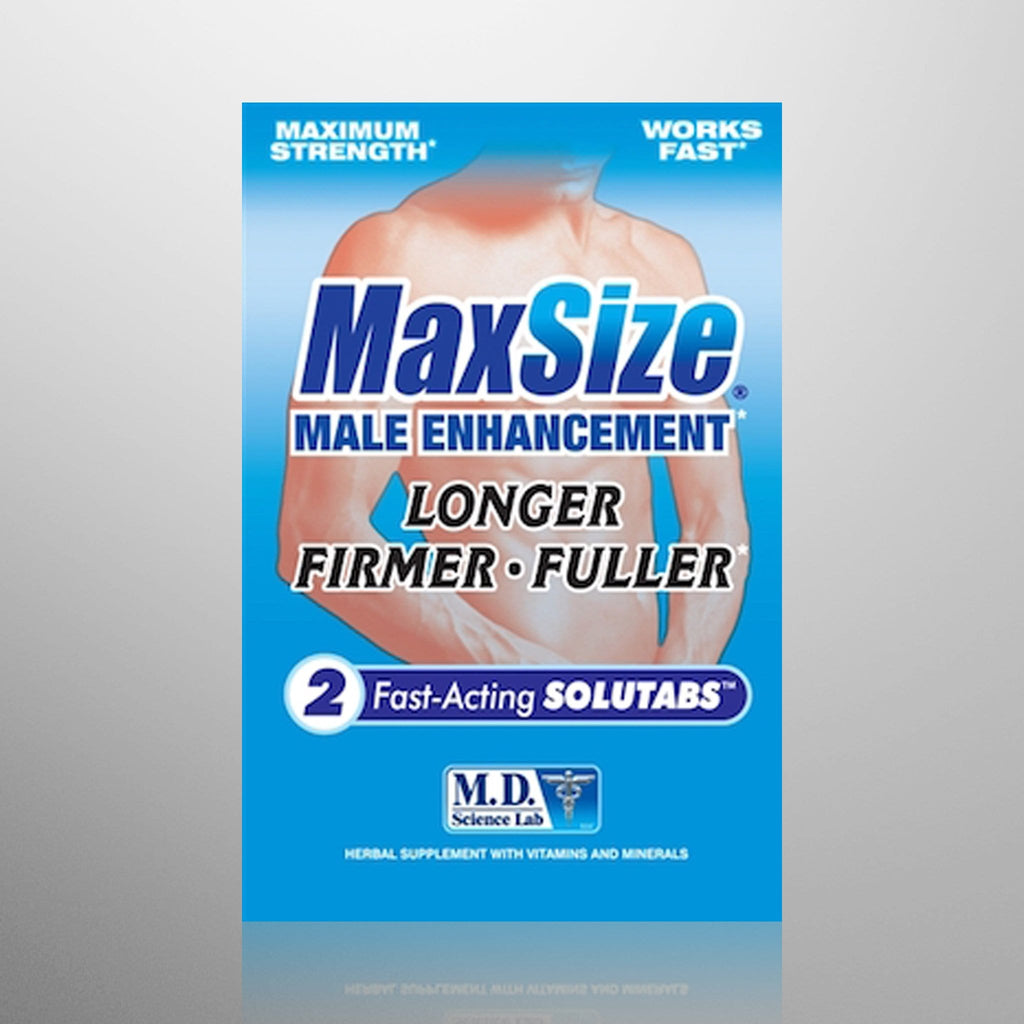 Max Size Male Enhancement Tablets
