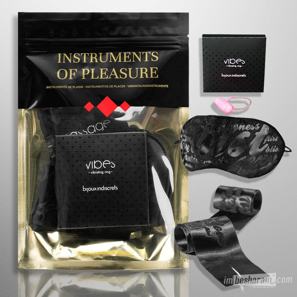 Bijoux Indiscrets - Instruments of Pleasure Red Kit