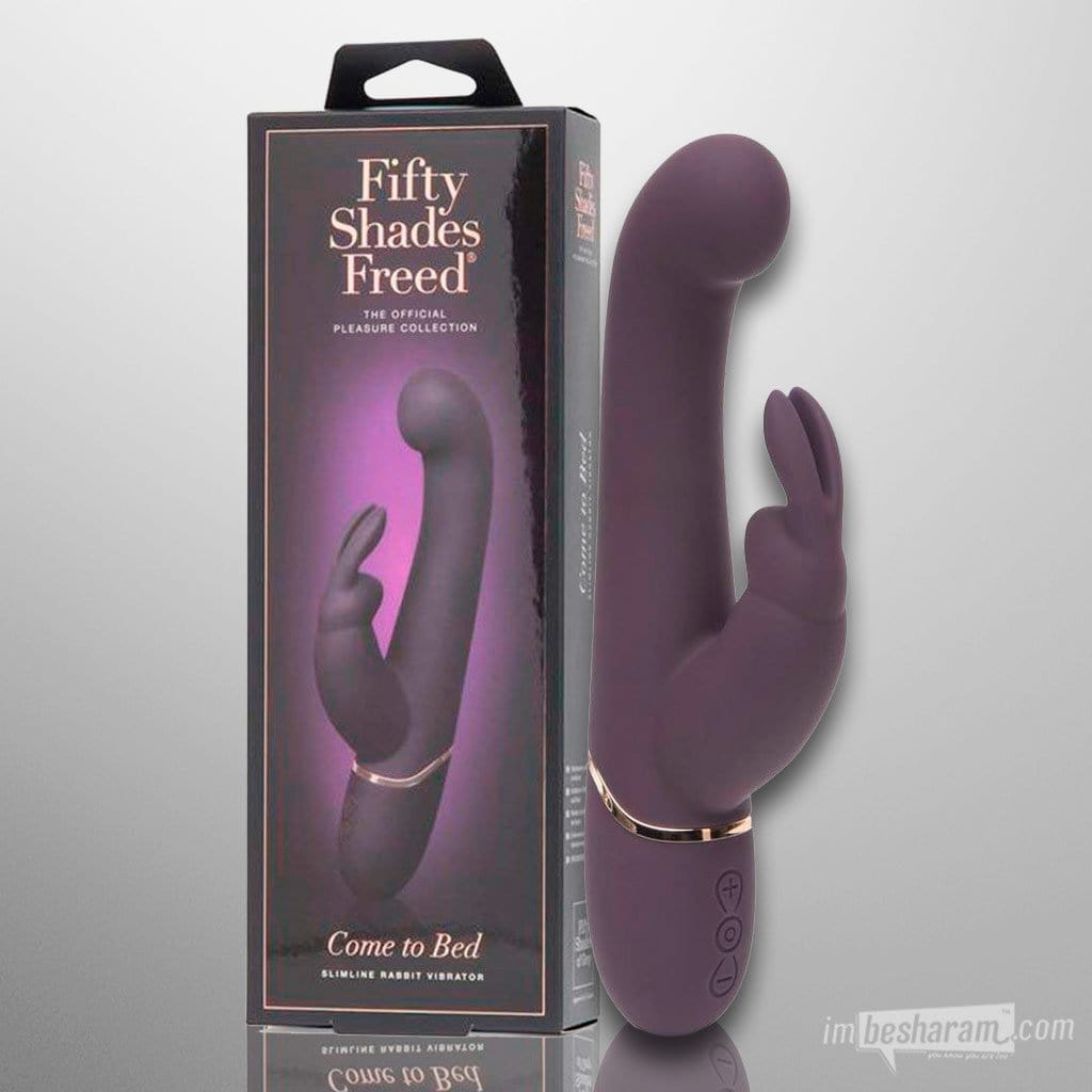 Fifty Shades Freed Rechargeable Slimline Rabbit Vibrator
