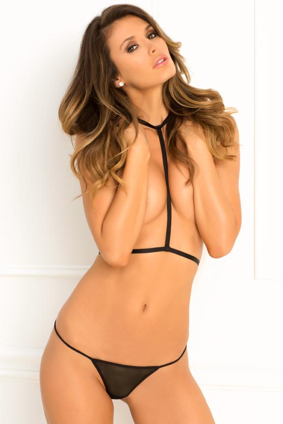 Rene Rofe Rough Romance Harness and G-String