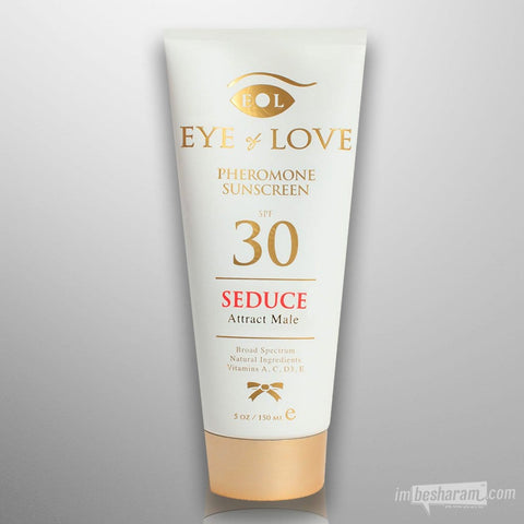 Eye of Love Pheromone Sunscreen - Seduce 5oz