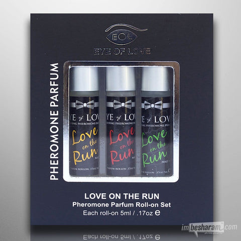 Eye of Love Pheromone Roll-On Set For Men 0.5oz