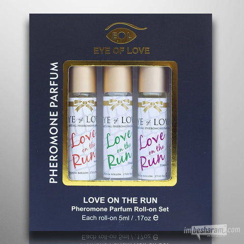 Eye of Love Pheromone Roll-On Set For Women 0.5oz