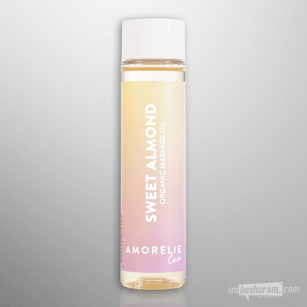 Amorelie Sweet Almond Organic Massage Oil