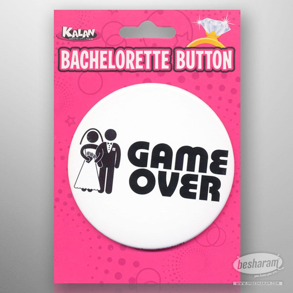 Bachelorette Button - Game Over