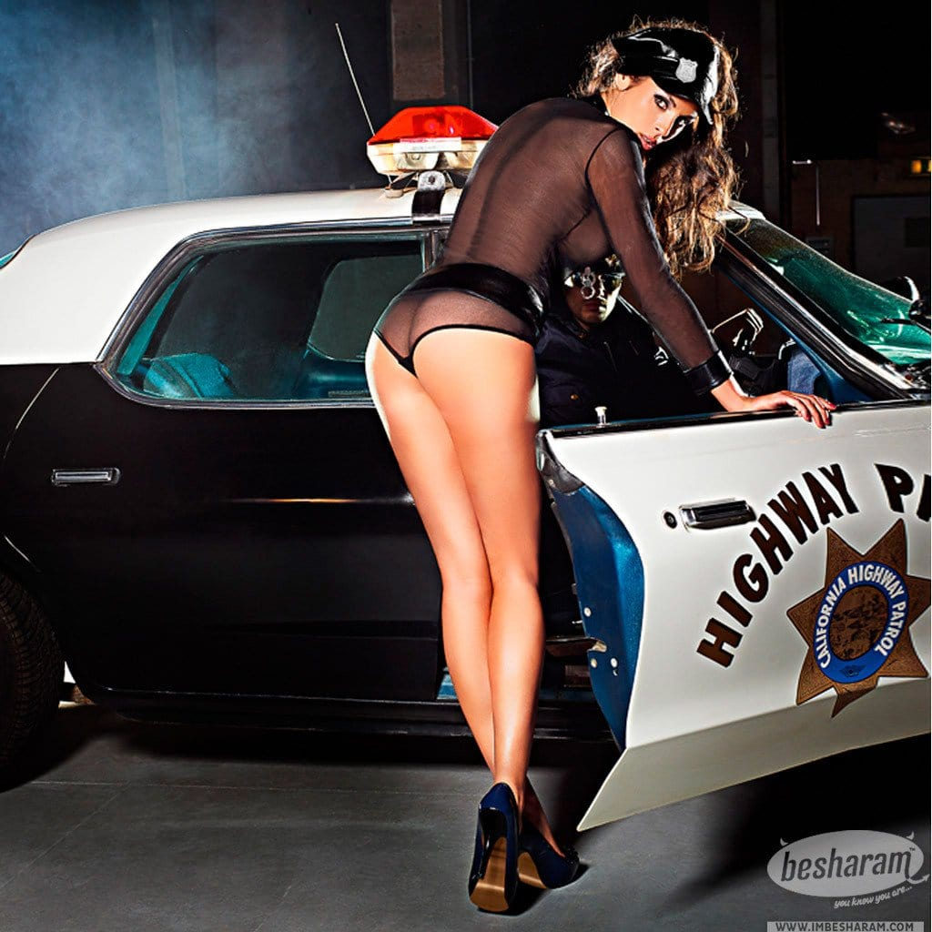 Baci Dreams Police Chemise Panty Belt Badge Headwear main image 3