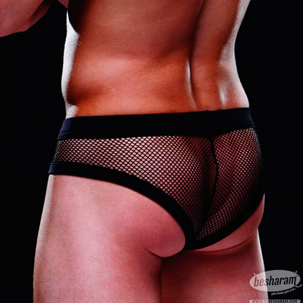 Baci Envy Fishnet Sport Brief main image 3