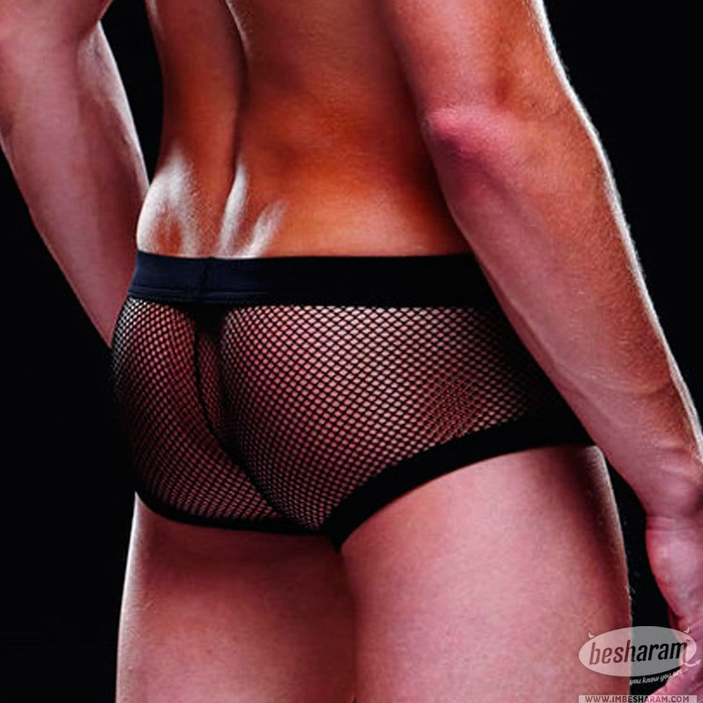 Baci Envy Fishnet Sport Trunk main image 4