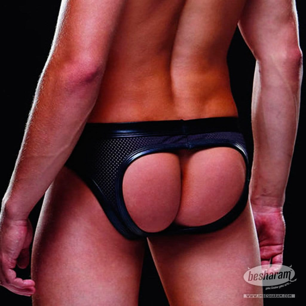 Baci Envy Wetlook Bareback Athletic Brief main image 3