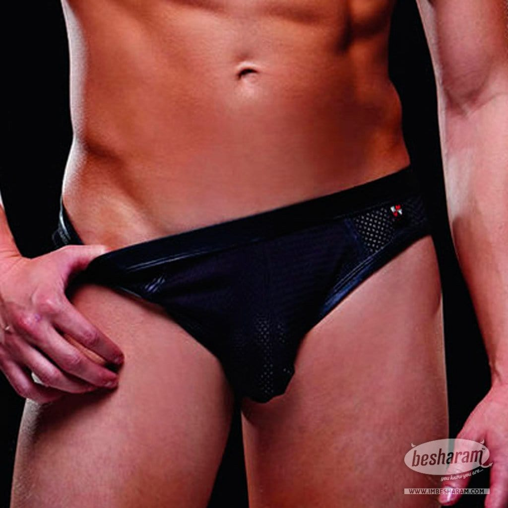 Baci Envy Wetlook Bareback Athletic Brief