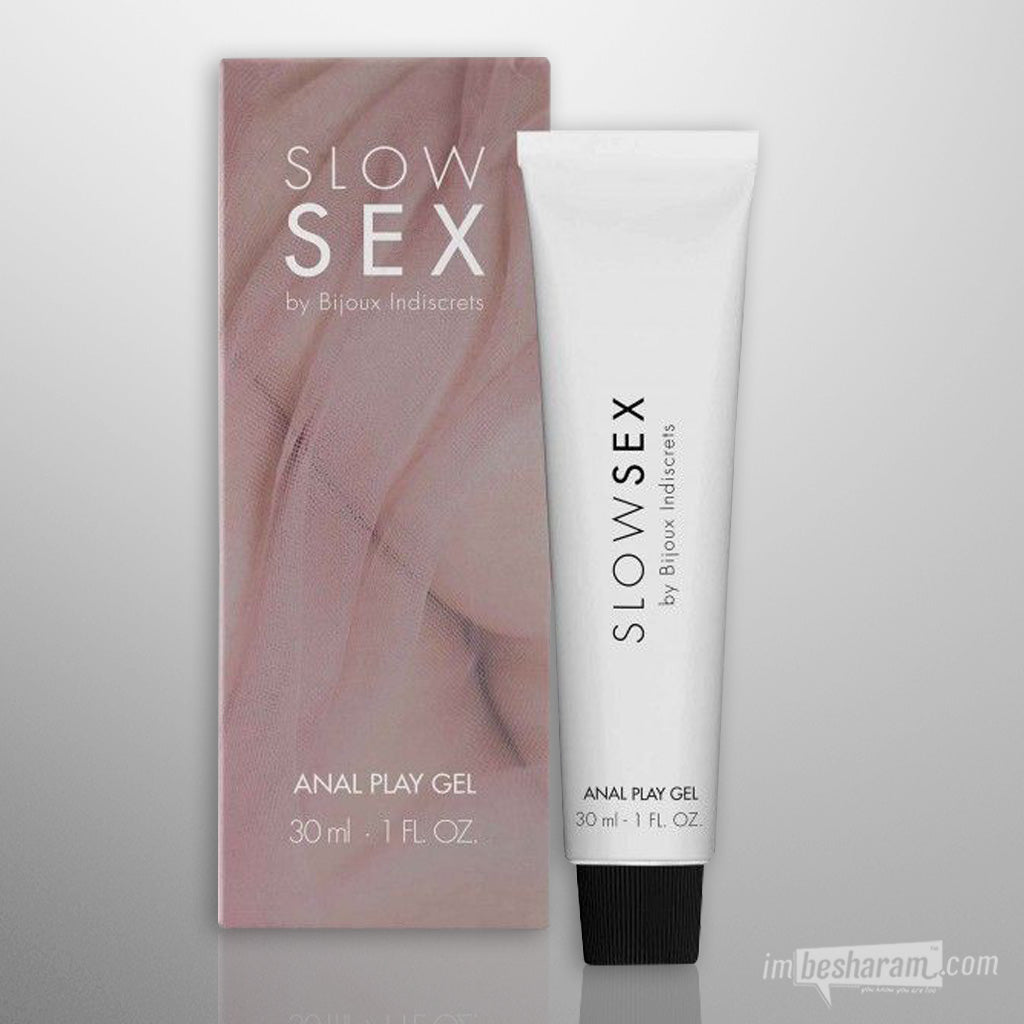 Bijoux Indiscrets Anal Play Gel 1oz - Slow Sex