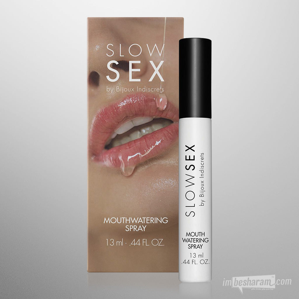Bijoux Indiscrets Mouthwatering Spray .44 oz - Slow Sex