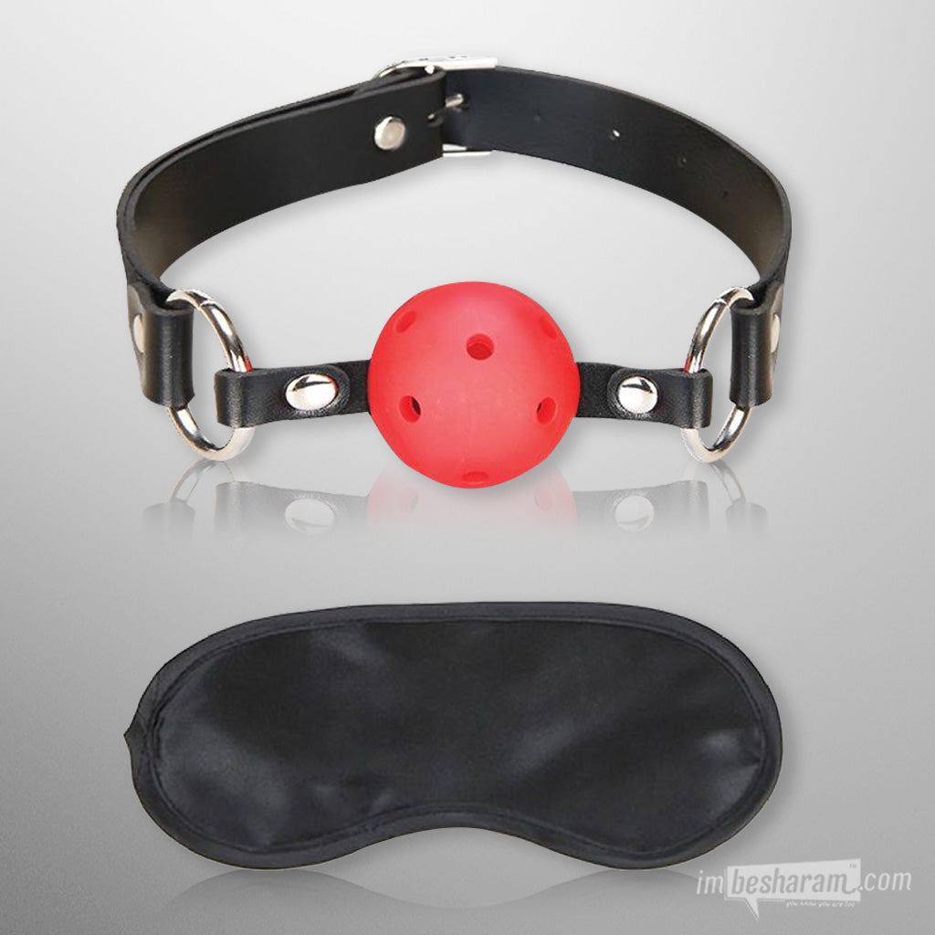 Lux Fetish - Breathable Ball Gag main image 2