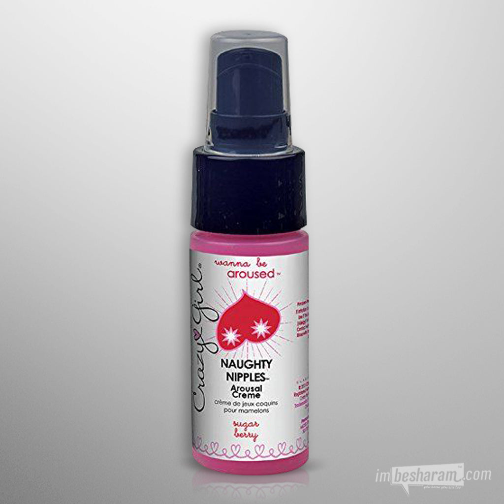 Crazy Girl Naughty Nipples Arousal Creme 1 oz