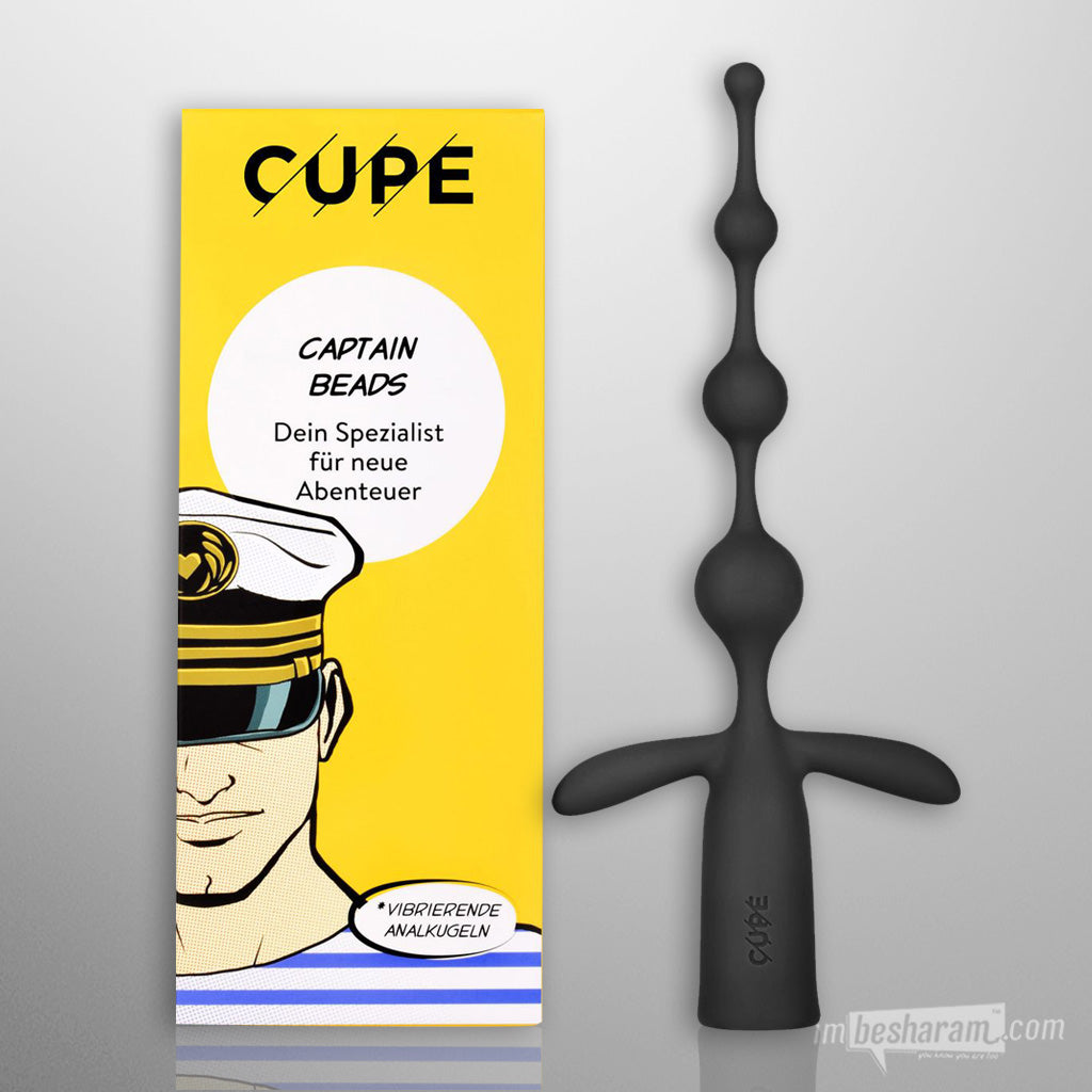 Cupe Captain - Vibrating Anal Beads