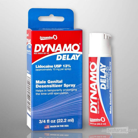 Screaming O Dynamo Delay Desensitizer Spray