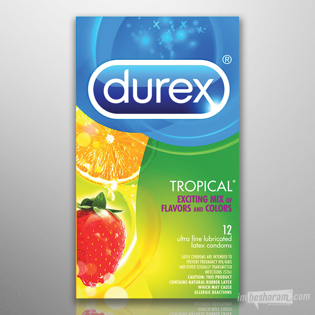 Durex Tropical Flavored Condoms main image 2