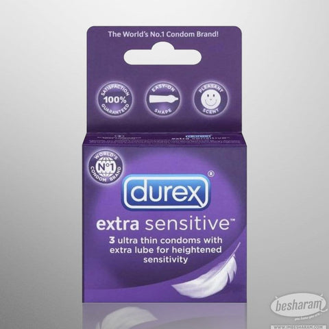 Durex Extra Sensitive Lubricated Condoms