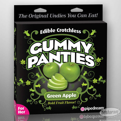 Edible Flavored Crotchless Gummy Panties