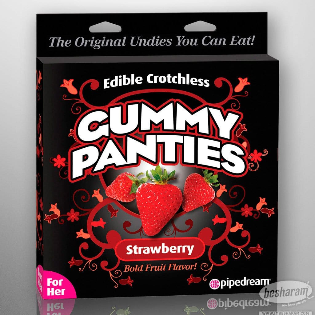 Edible Flavored Crotchless Gummy Panties main image 2