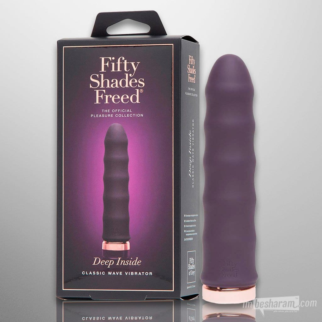 Fifty Shades Freed Rechargeable Wave Vibrator