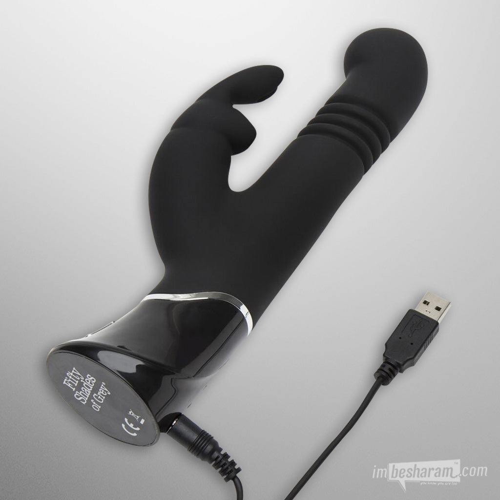 Fifty Shades Of Grey Greedy Girl Thrusting Rabbit Vibrator main image 2