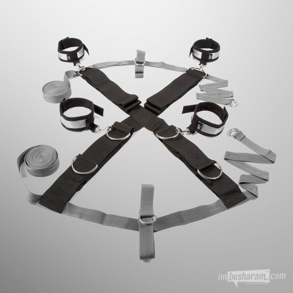 Fifty Shades of Grey Over the Bed Cross Restraint Kit main image 3