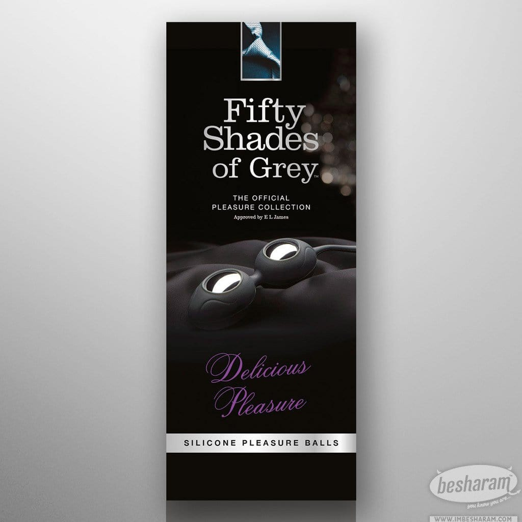 Fifty Shades Of Grey Pleasure Silicone Balls main image 3