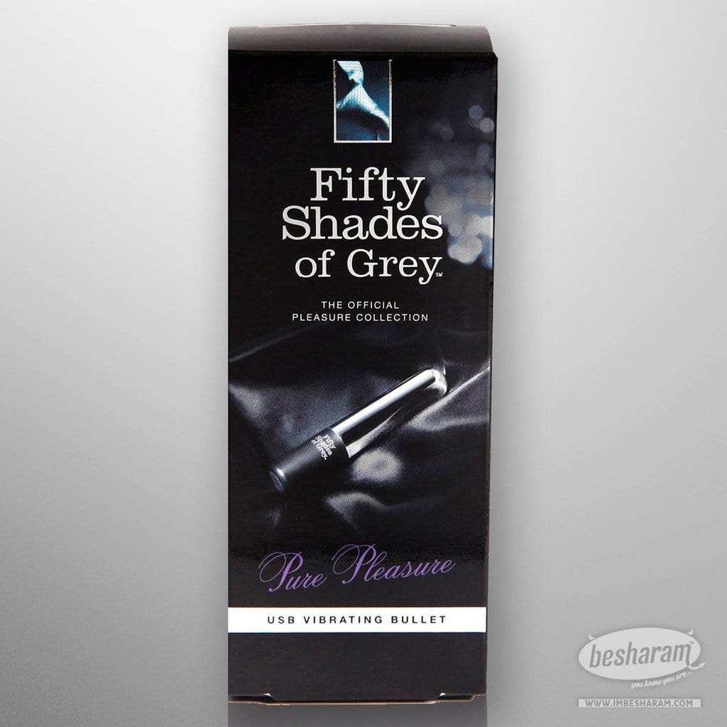 Fifty Shades Of Grey Pure Pleasure USB Vibrating Bullet main image 2