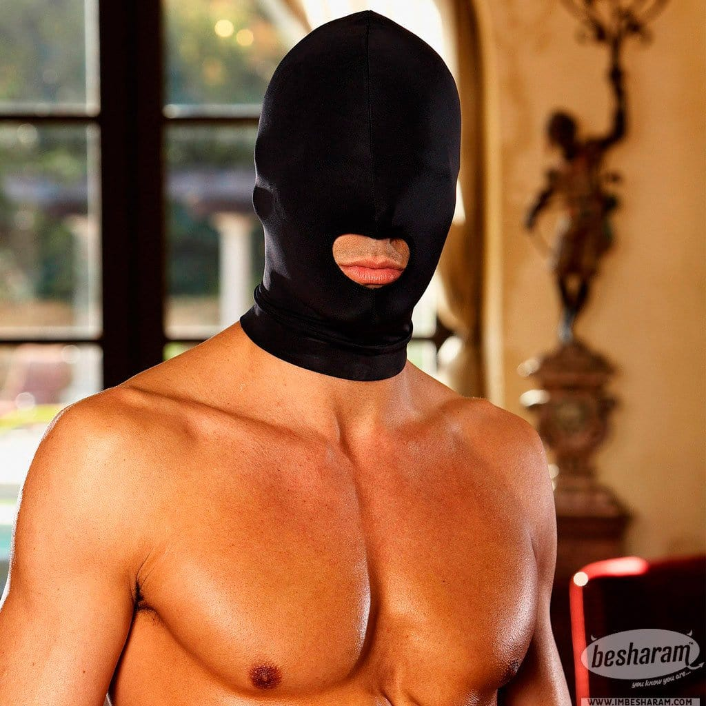 Lux Fetish - Comfortable Open Mouth Stretch Hood main image 3
