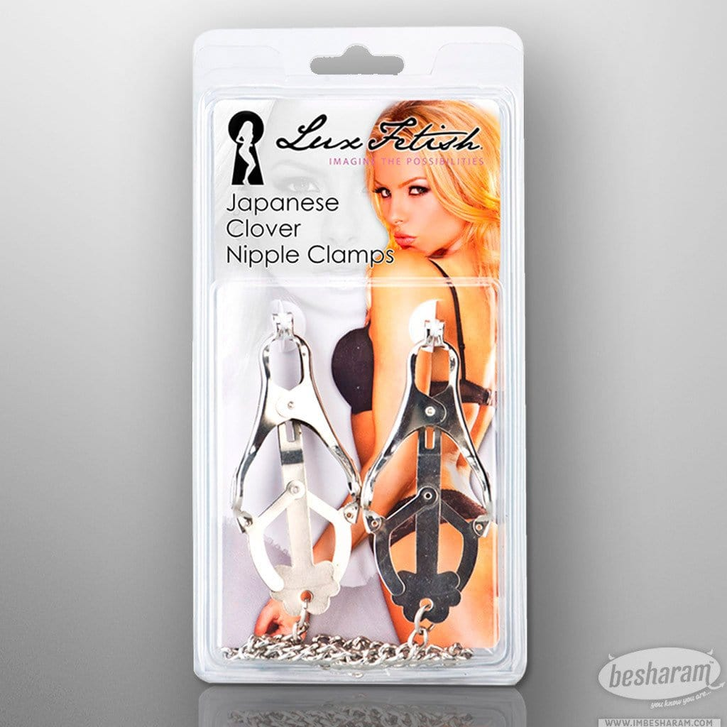 Lux Fetish - Japanese Clover Nipple Clamps