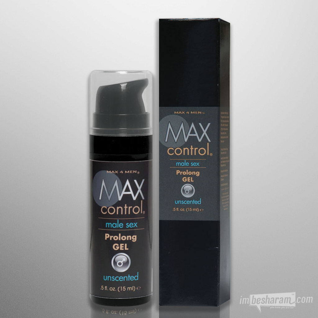 MAX Control-Prolong Gel .5oz