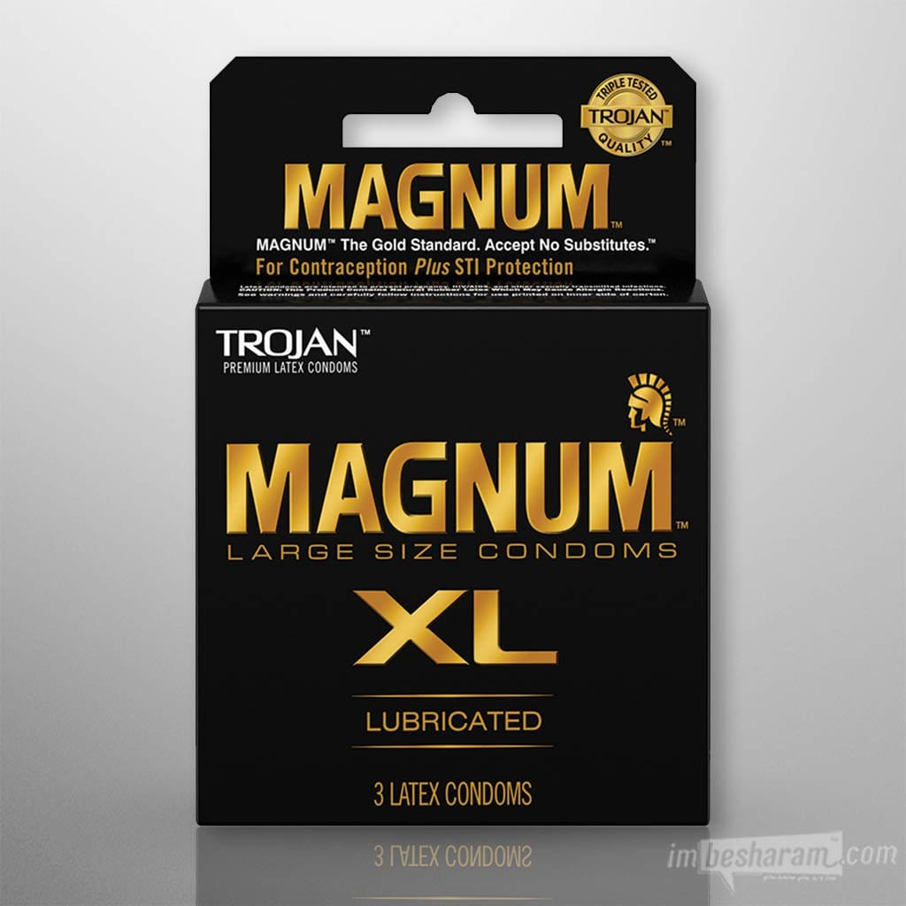 Trojan Magnum Lubricated Condom main image 1