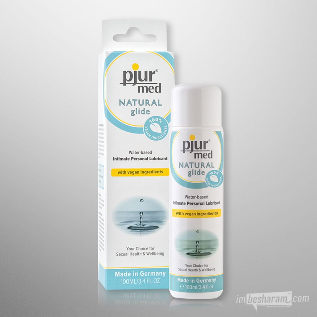 Pjur Med NATURAL Glide Water-Based Intimate Lubricant 3.4oz