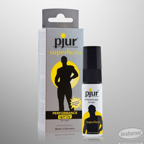 Pjur Superhero Performance Spray (Best Seller)
