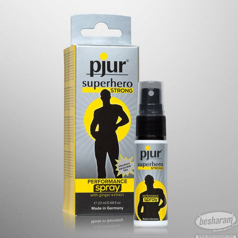 Pjur Superhero Strong Performance Spray (Best Seller)