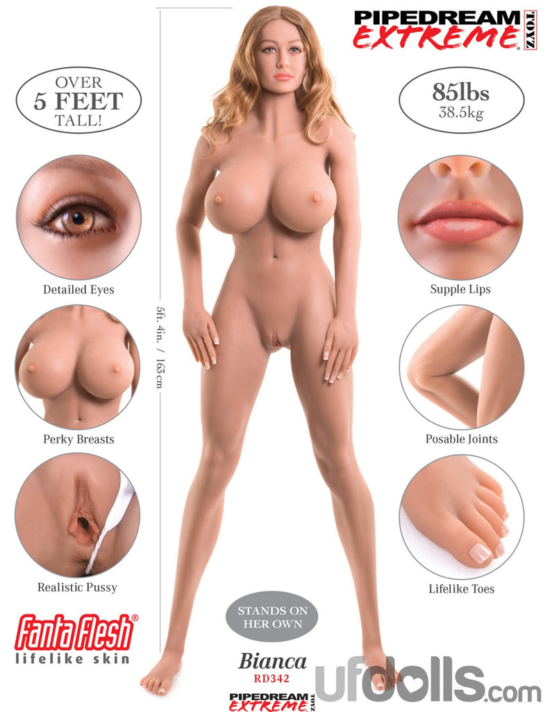 Ultimate Fantasy Real Sex Doll - Bianca main image 8