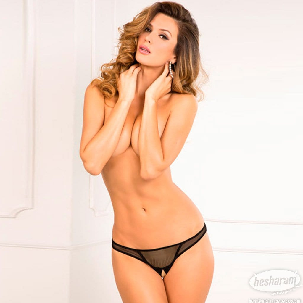 Rene Rofe Crotchless Open Mind G-String