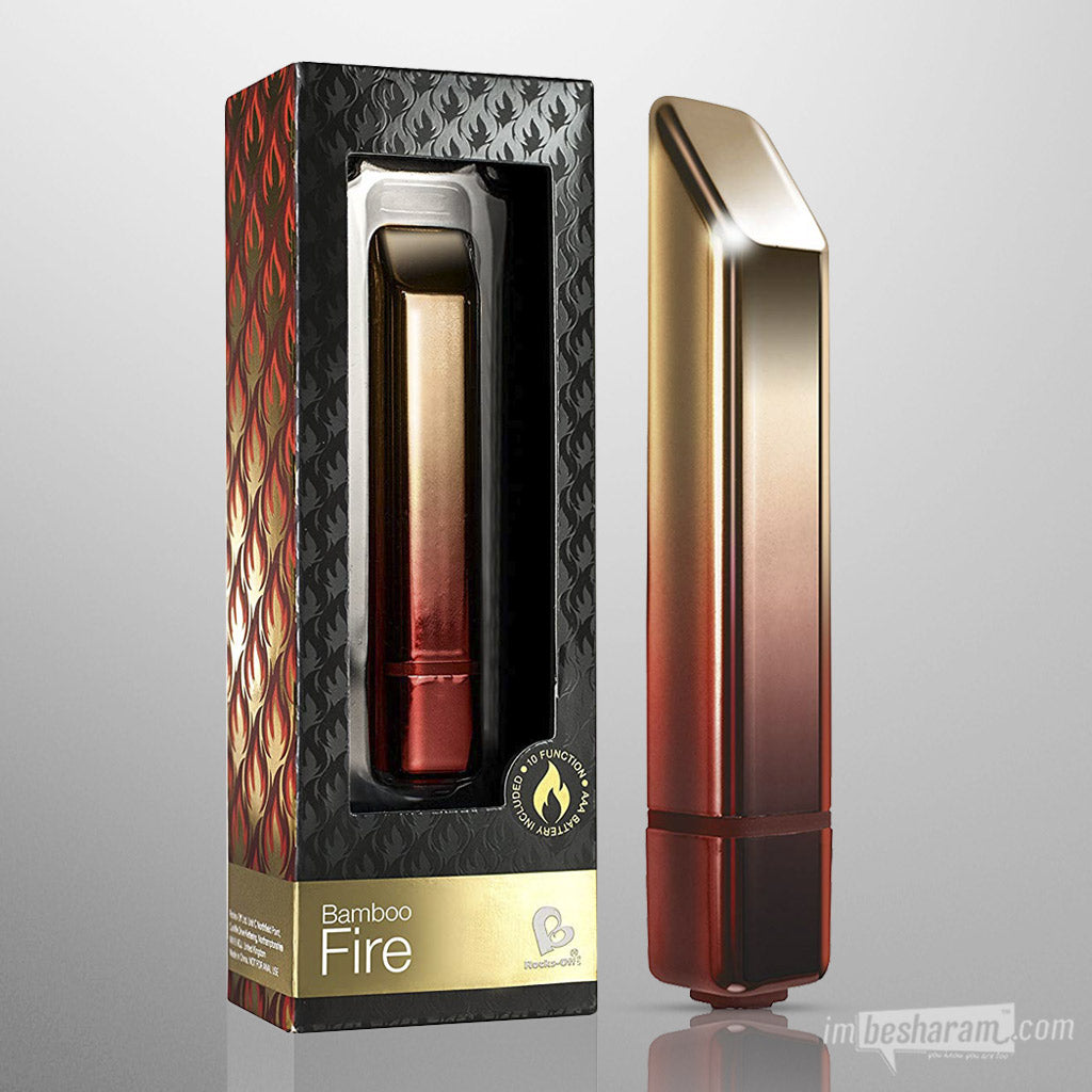 Rocks Off Bamboo Bullet Vibe - Fire & Ice