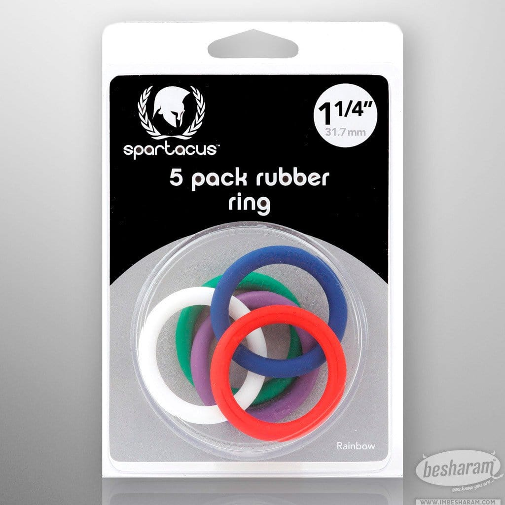Rubber Cock Ring Set