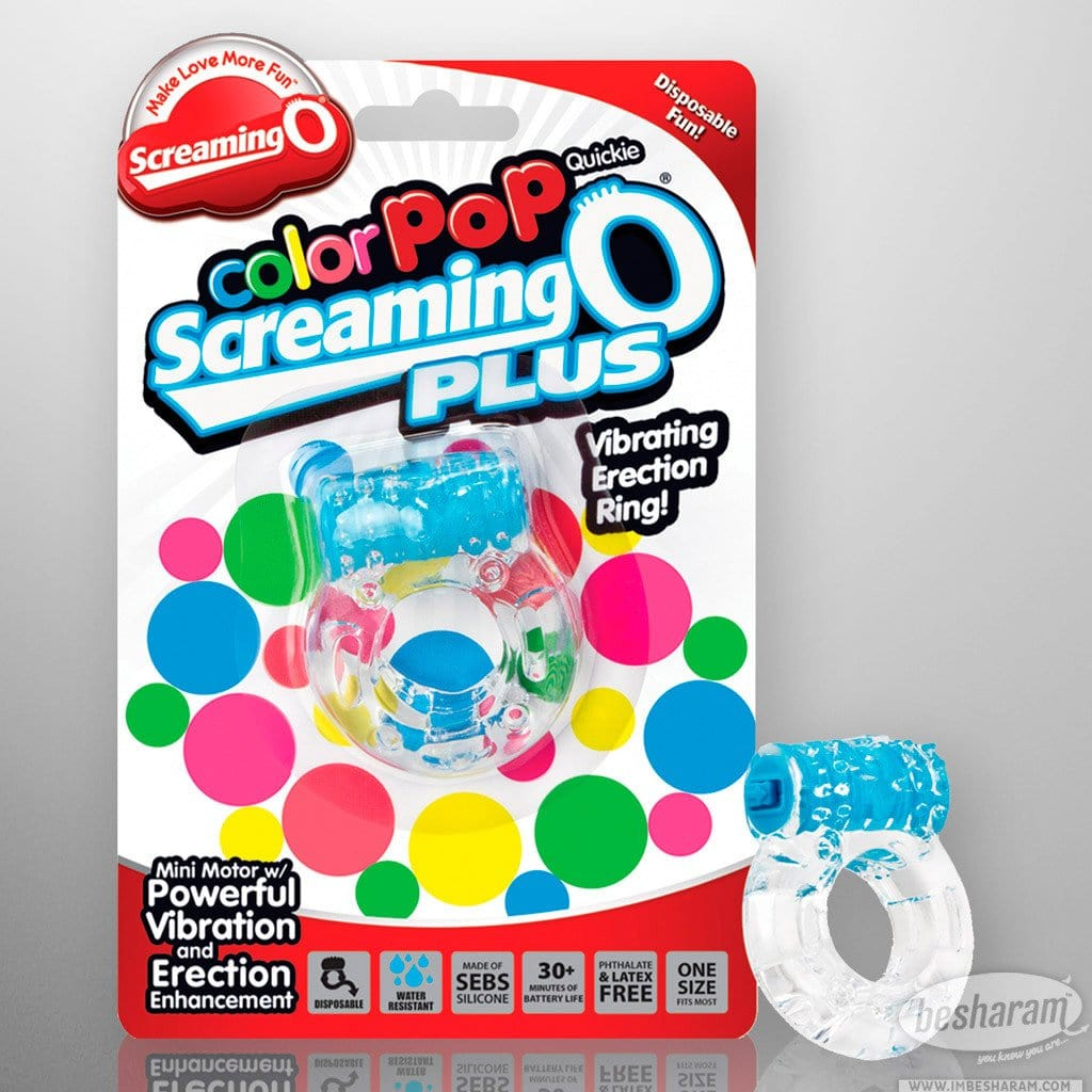 Screaming O Color Pop Quickie O Plus C-Ring main image 1