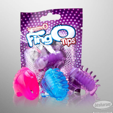 Screaming O FingO Tips Micro Vibrating Massager