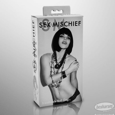 Sex & Mischief Breathable Ball Gag
