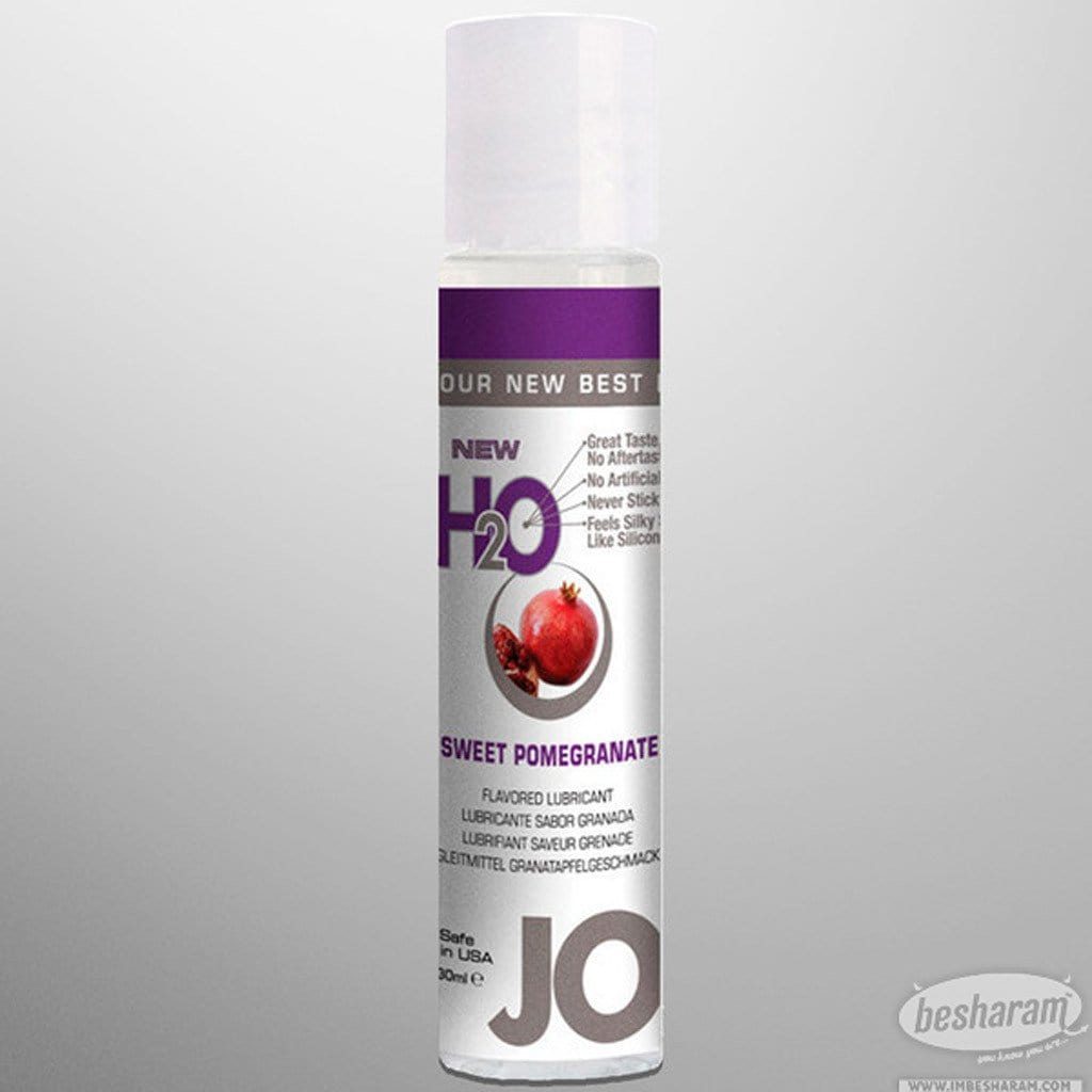 System Jo H2O (Multi) Flavored Lube - 1 oz. main image 4