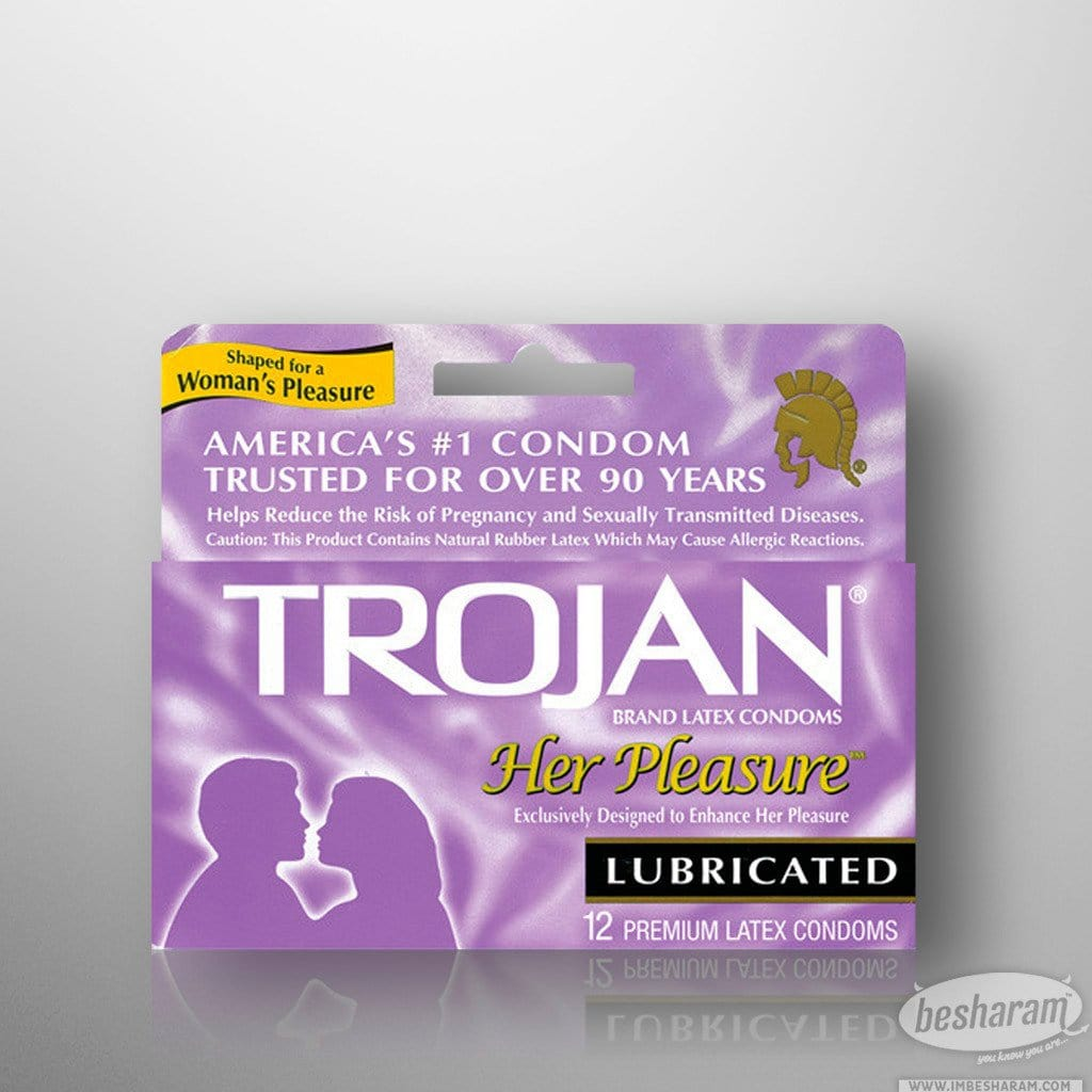 Trojan Her Pleasure Condoms main image 2