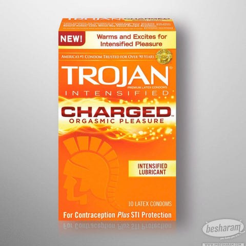 Trojan Intensified Charged Condoms