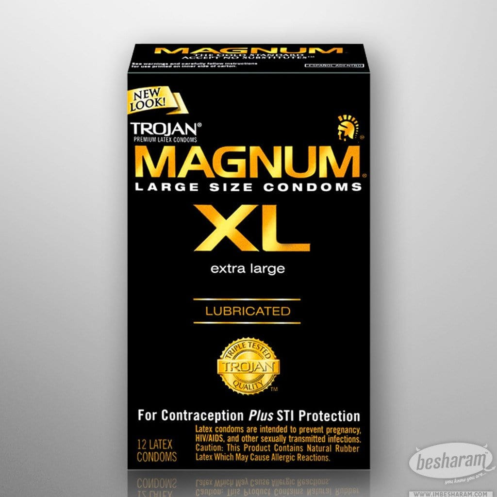 Trojan Magnum XL Lubricated Condom main image 2