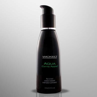 Wicked Aqua water based intimate lubricant