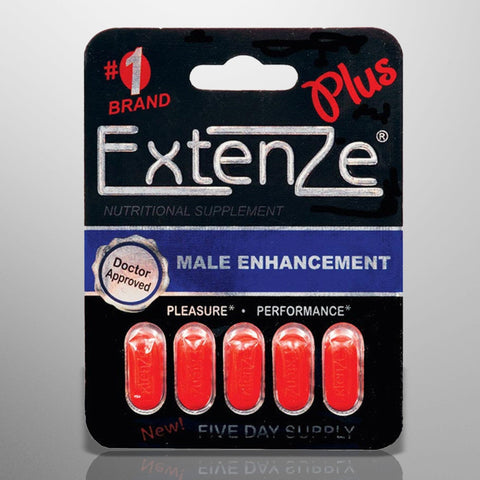ExtenZe Max Strength Plus Male Enhancement - 5 ct Pack